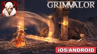 GRIMVALOR - ANDROID / iOS GAMEPLAY