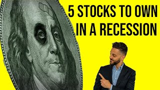 Best STOCKS to buy for a 2020 Recession. Best investments during a recession. Stock Picks.