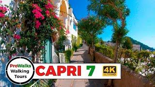 Capri Walking Tour 7: Walking The Via Tiberio