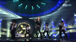 G.na - I'll leave so you can live @ SBS Inkigayo 인기가요 100725