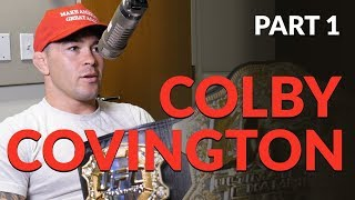 Chael and Colby Covington talk cutting weight, Rafael dos Anjos and Tyron Woodley.