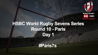 HSBC World Rugby Sevens Series 2019   Paris Day 1