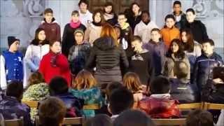 preview picture of video 'Sant Celoni. Cantada de Nadales. Alumnes La Salle i Cor de Maria.'