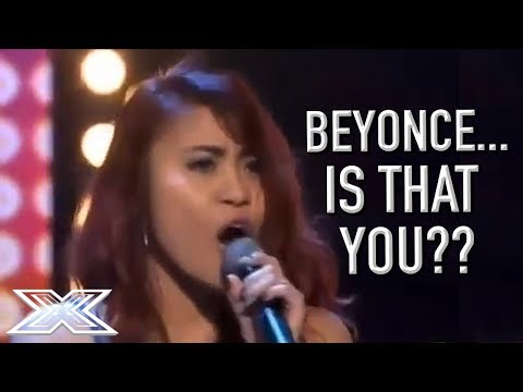 Beyoncé Soundalike Delivers A STUNNING Audition! | X Factor Global (видео)