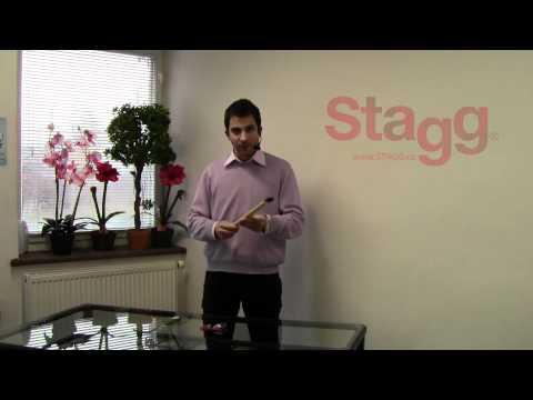 STAGG SSST 1 Gumové nástavce na paličky