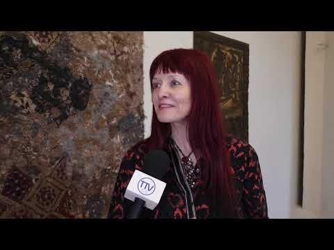 """Izstādes """"Aijai Baumanei būtu 77"""" atklāšana Talsu novada muzejā. 2020. gada 13. marts"""