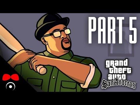KRÁDEŽ OD STRÝČKA SAMA!   GTA: San Andreas #5