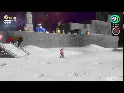 Super Mario Odyssey amiibo cereal functionality