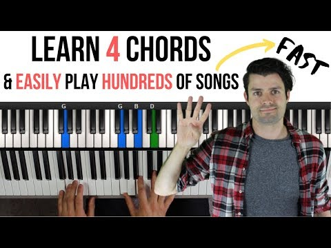 Download Piano Chords For Beginners Learn Four Chords To Play Hundre