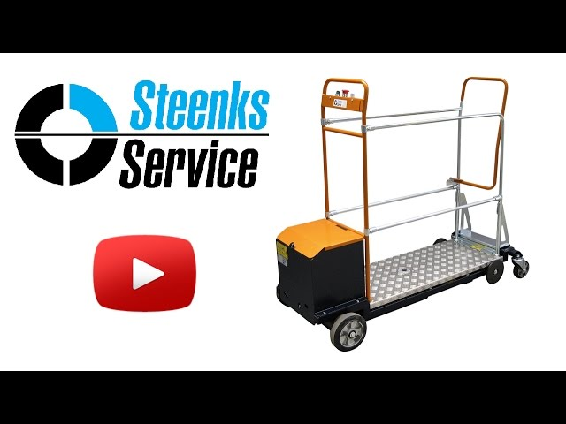 YouTube video | Leaf-picking trolley Berg Hortimotive