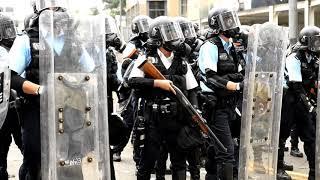 他們是不是香港警察?過度使用武力,中共是背後總指揮?
