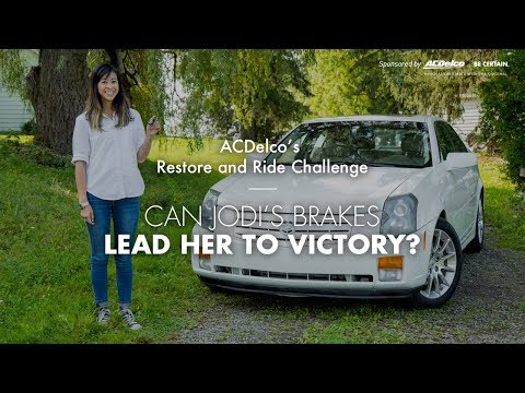 ACDelco's Restore and Ride Challenge - Can Jodi's 2007 Cadillac CTS Lead Her to Victory?