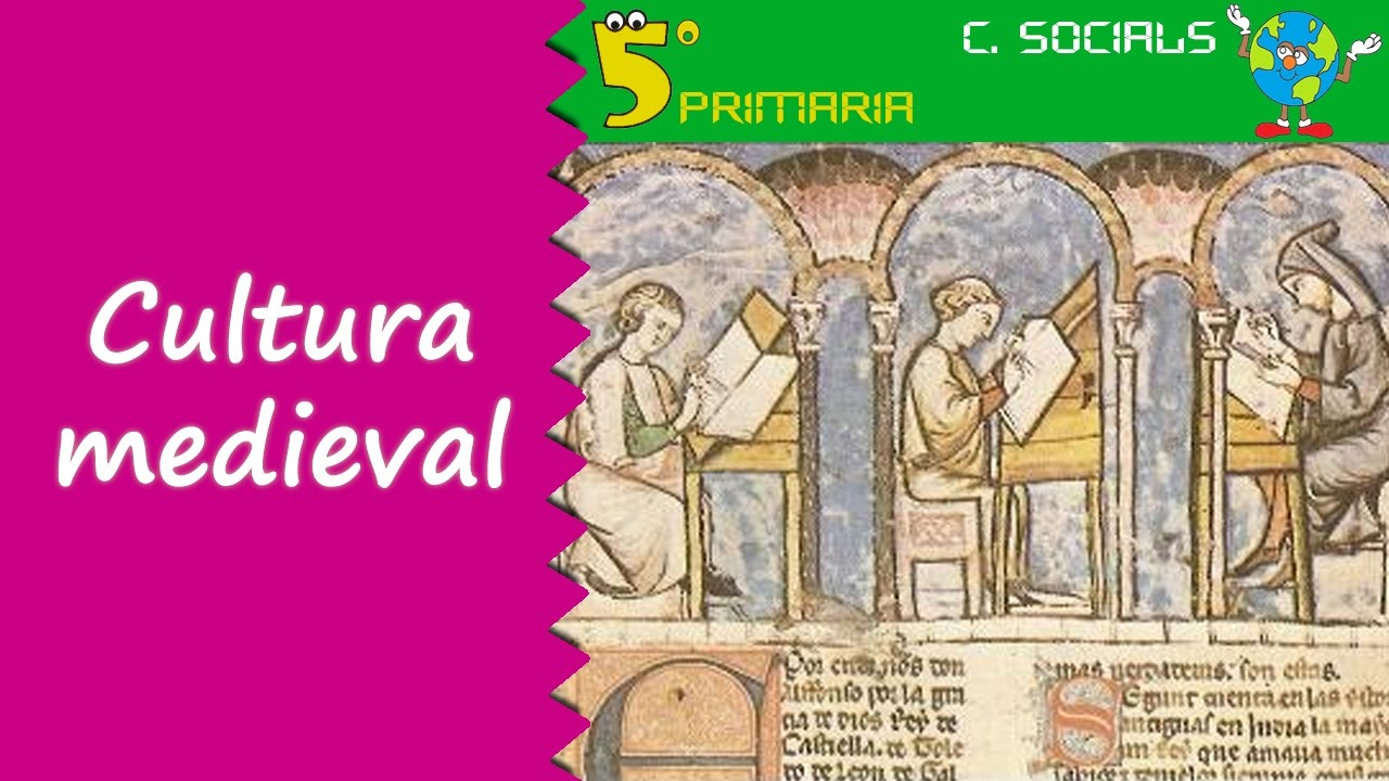 Cultura medieval a la Península Ibérica. Socials, 5é Primaria. Tema 7