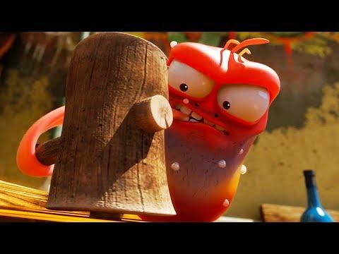 LARVA - HARD WORK | Cartoon Movie | Cartoons For Children | Larva Cartoon | LARVA Official