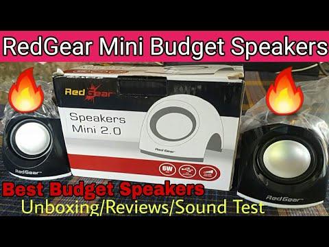 Best Budget Speakers| Redgear USB 2.0 Mini Speakers Unboxing,Reviews & Sound Test