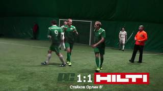 РОЗУМНА СИЛА - HILTI 7:2 (Обзор матча)  #SFCK Street Football Challenge Kiev