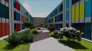 3D bina modellemesi, peyzaj tasarımı ve animasyonu kısa sürede hazırlanır