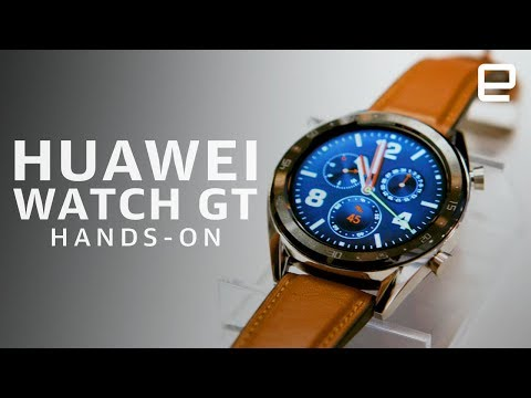 Huawei Watch GT Hands-On