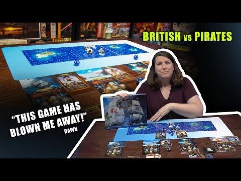 British vs Pirates on Kickstarter (TheBeastsOfWar)