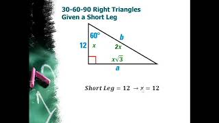 Special Right Triangles Lesson