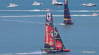 America`s Cup New Zealand First Day of World Series Christmas Cup Races Auckland December 17, 2020
