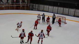 ОПМ 2015/2016. ЦСКА - Локомотив; 3:2. 2й период. Детский хоккей (2003)