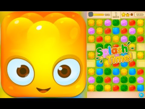 JELLY SPLASH - Gameplay & Review (iPhone, iPad, iOS)