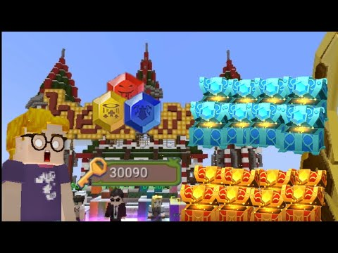 Open CHESTS with 30k keys in Bedwars 😱 (Blockman go)