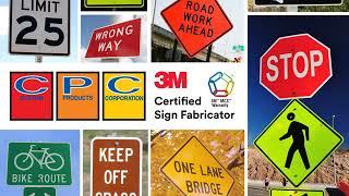 3M Certified Digitally Printed Traffic Signs