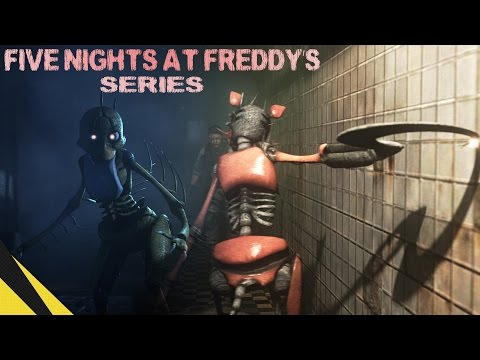 [SFM] Five Nights at Freddy's Series (Trailer) | FNAF Animation