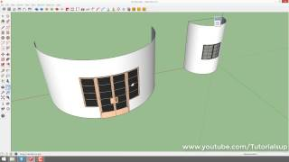 How to use shape bender in sketchup