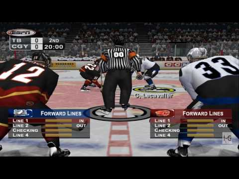 ESPN NHL Hockey PS2 Gameplay HD