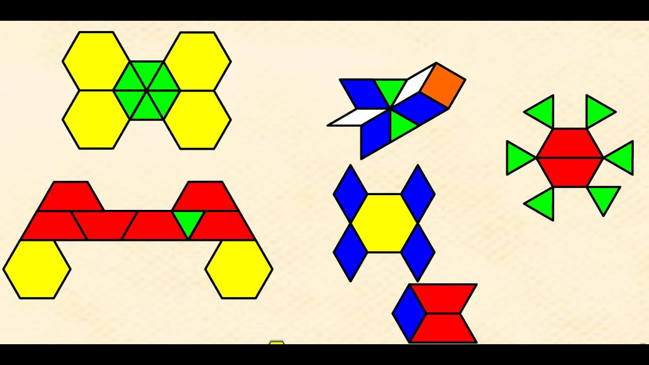 Video tutorial para emplear una aplicación de  pattern block
