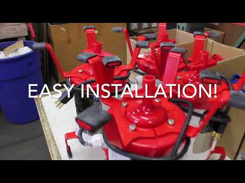 Ultra-Air Model 735 RED Flood Resistant Septic Aerator - Alternative Replacement For Jet Aerator Video