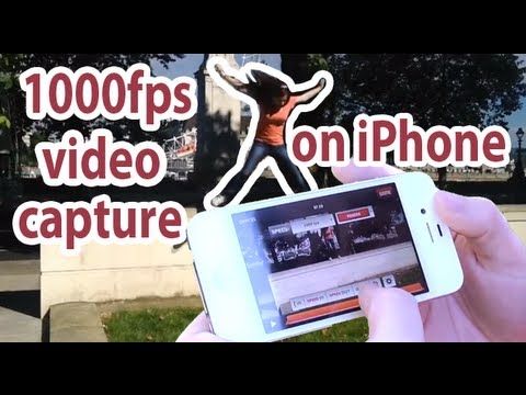 1000fps Super Slow Mo on iPhone (SloPro tutorial)