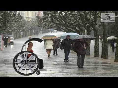 silla de ruedas con carpa - UMB