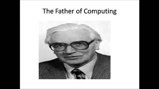 Who is the Founder of Computer.