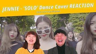 Vietnam dacne team, 'SOLO' Dance Cover reaction of  Những anh em Hàn Quốc