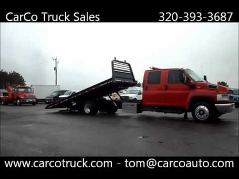 Chevrolet Crew Cab Jerr-Dan Rollback Tow Truck For Sale By CarCo Auto Truck Mp3
