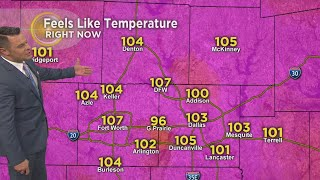 It Feels Hotter Than 100 This Afternoon!