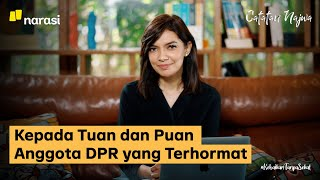 Kepada Tuan dan Puan Anggota DPR yang Terhormat | Catatan Najwa