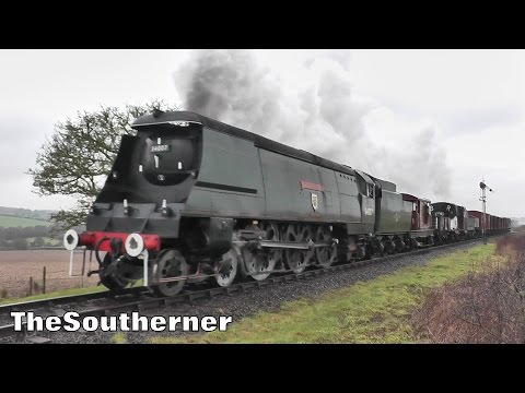 The Watercress Line 'Spring Steam Gala' 13th February 2016