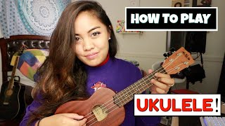 How To Play The UKULELE in Only 10 Mins?!