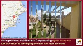 preview picture of video '4 slaapkamers 3 badkamers Dorpswoning te Koop in Bigastro, Alicante, Spain'