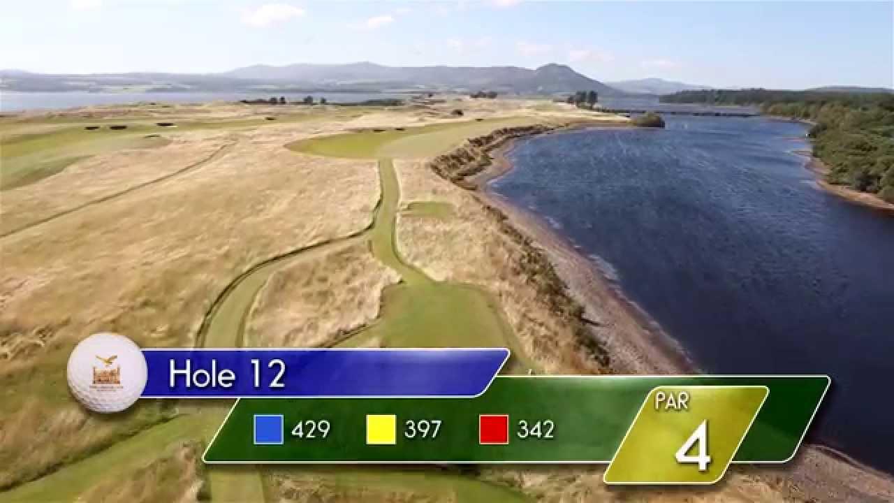 Carnegie Links Hole 12 - YouTube video