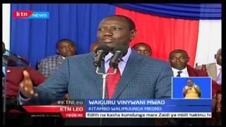 KTN Leo: Masaibu ya aliye kuwa Waziri wa ugatuzi Anne Waiguru yazidi huku marafiki wakimsaliti