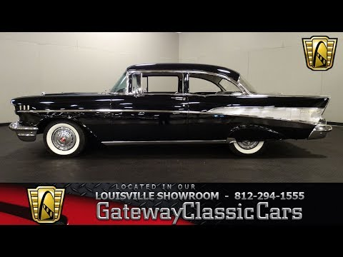 Video of 1957 Chevrolet 210 - $38,995.00 Offered by Gateway Classic Cars - Louisville - LADD