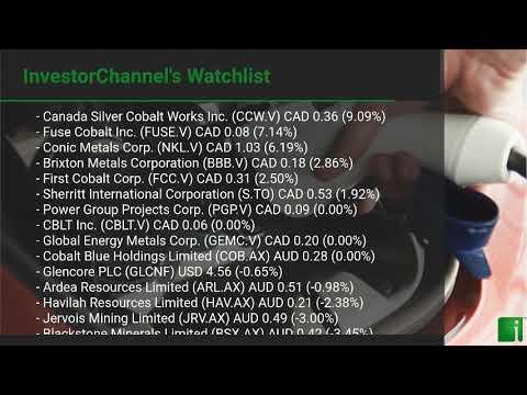 InvestorChannel's Cobalt Watchlist Update for Thursday, Ju ... Thumbnail