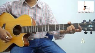 Raat Kali guitar lesson (simplified for beginners)
