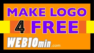 How To Make A Logo - In 10 Minutes - For My Business - For Free